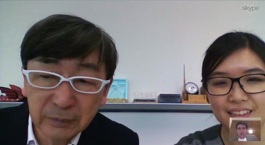 Interview with Toyo Ito and ArchDaily via Skype