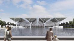 National Convention and Exhibition Center Winning Proposal / gmp Architekten