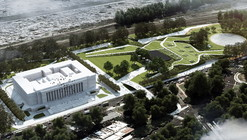 Primer Lugar Concurso Parque, Centro de Exposiciones y Convenciones en Buenos Aires.