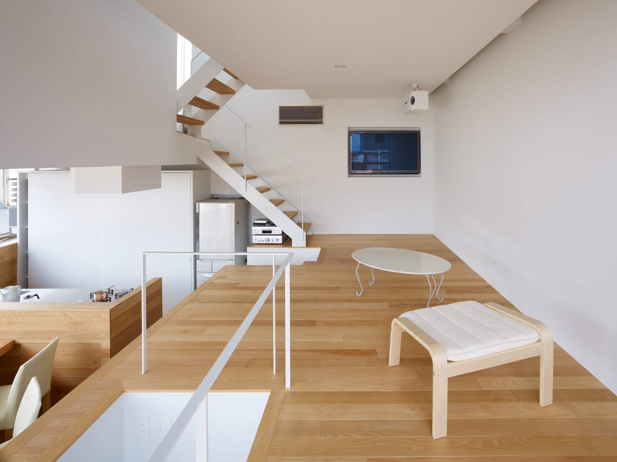 Gallery of house in matubara fujiwaramuro architects 5 for Minimalist cabin design