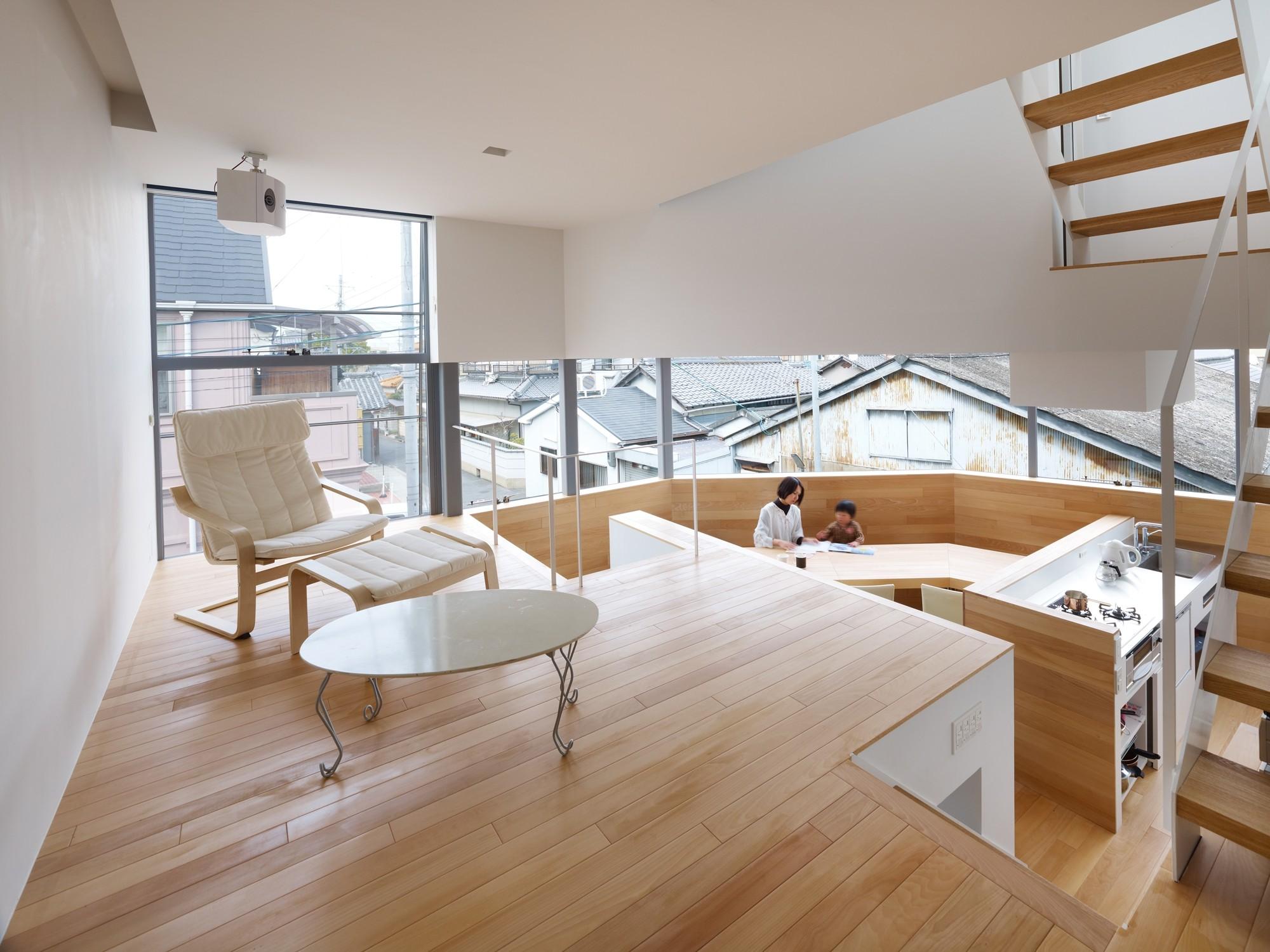 Gallery Of House In Matubara Fujiwaramuro Architects 1