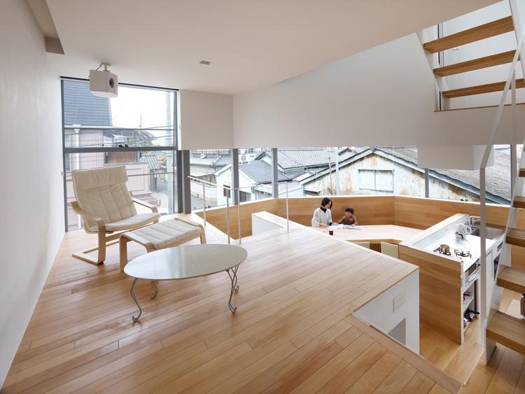 Casa en Matubara / Fujiwarramuro Architects, © Toshiyuki Yano