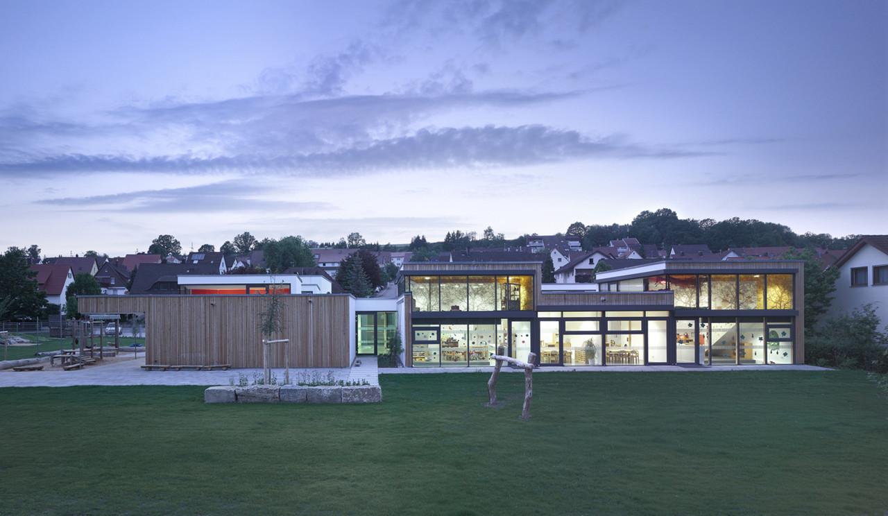 gallery of kinderhouse arche noah liebel architekten bda 9. Black Bedroom Furniture Sets. Home Design Ideas