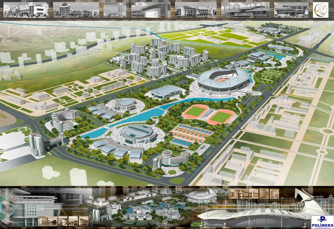 gallery of ashgabat olympic complex proposal arup 5 ForDomon Olympic City