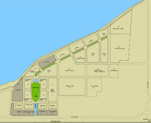 Master Plan, Fountainhead Quad Cities; Developer J. Paul Beitler of Beitler Real Estate Services