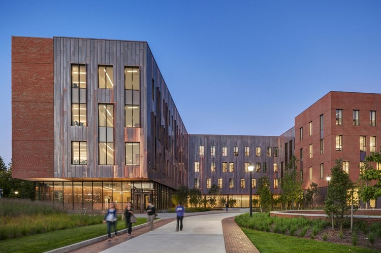 Classroom Building Design ~ University of connecticut social sciences and classroom