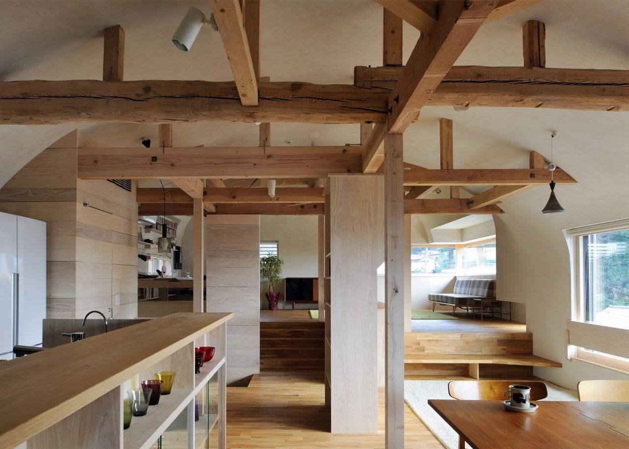 A house in Kitashirakawa / Méga, © Kei Sugino