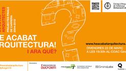 """Inauguración exposición """"¡He acabo arquitectura! ¿Y ahora qué?"""""""