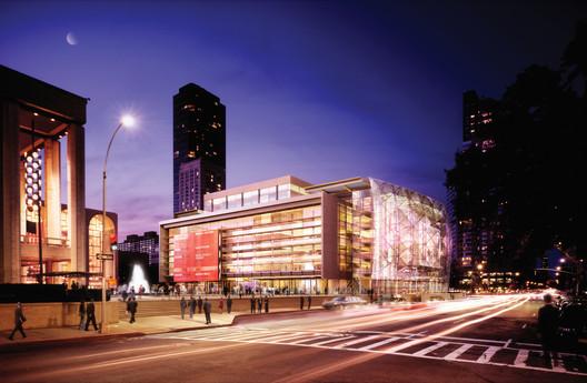 Avery Fisher Hall / © Richard Meier & Partners
