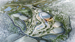 2018 Pyeongchang Speedskating Arena Proposal / Idea Image Institute of Architects
