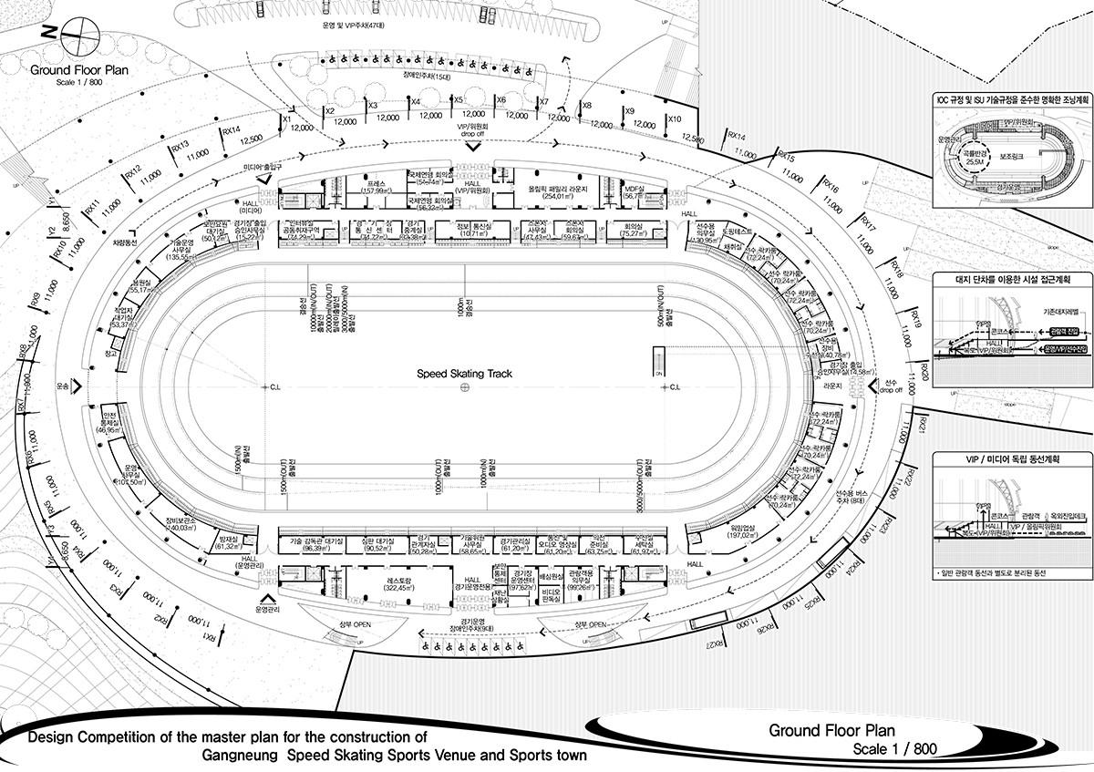 gallery of 2018 pyeongchang speedskating arena proposal idea