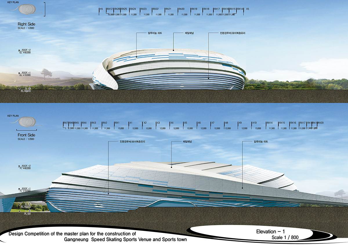 Gallery of 2018 pyeongchang speedskating arena proposal for Architecture 2018