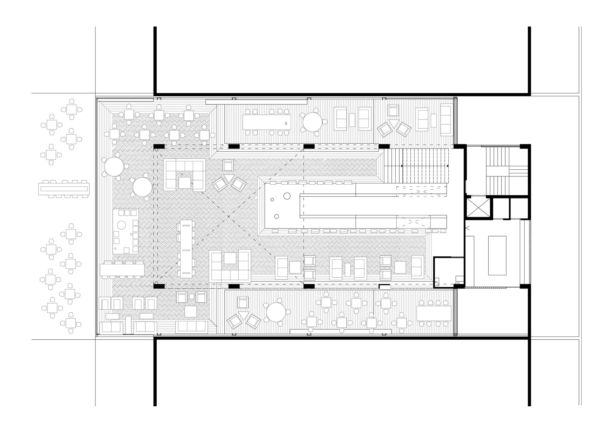 Gallery of Coffee Shop 314 Architecture Studio 8