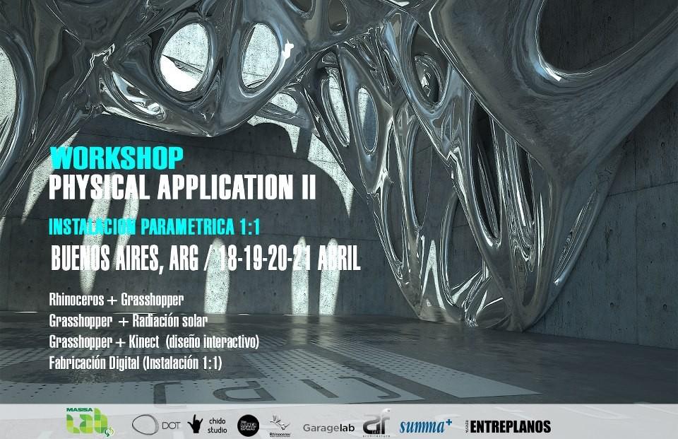 Workshop Physical Application II en Buenos Aires / Chido Studio [¡Sorteamos un Cupo!]