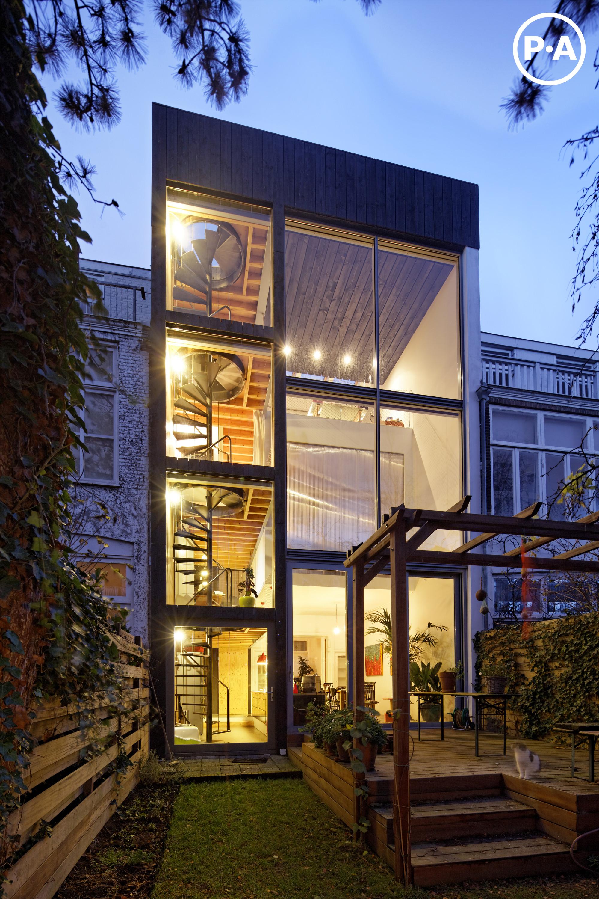 Front Elevation Software : House of joyce jeroen personal architecture archdaily
