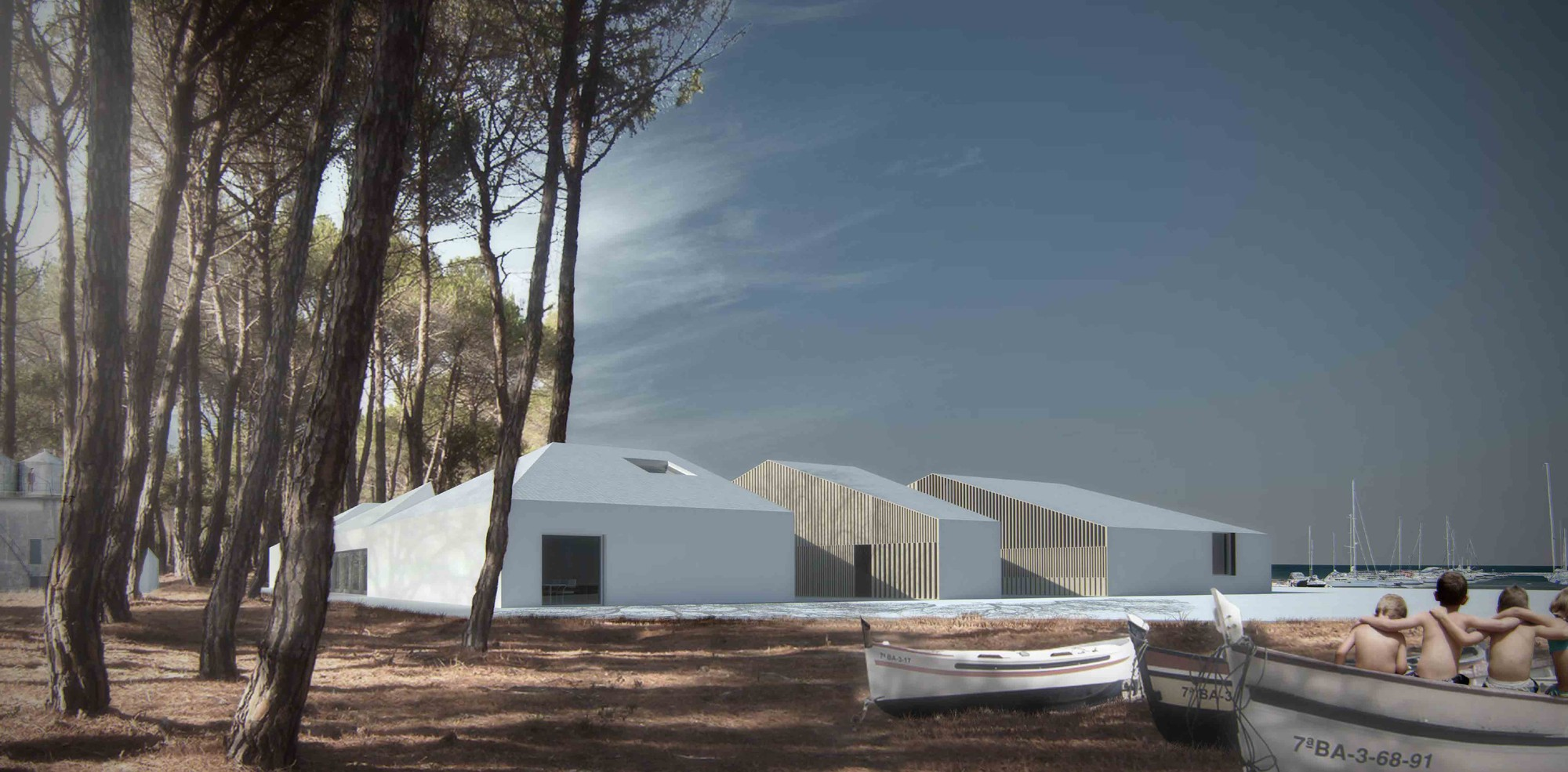 Península of Sancti-Petri Winning Proposal / BAKPAK Architects, Courtesy of BAKPAK Architects