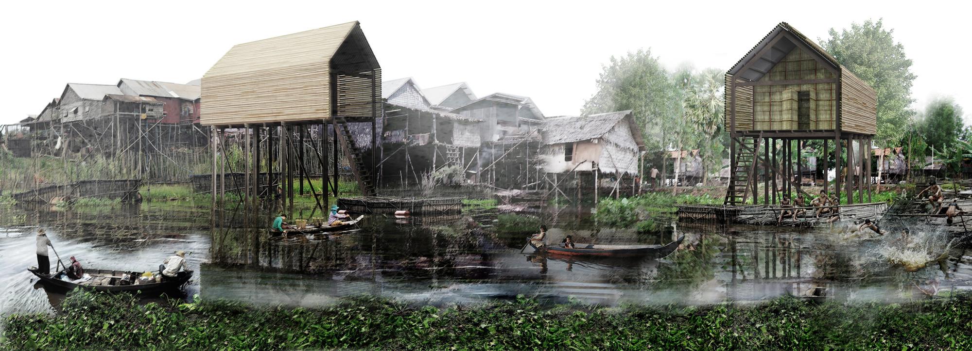 Propuesta de Vivienda Sustentable en Camboya / Architetto Matteo Ascani, Cortesía de Architetto Matteo Ascani