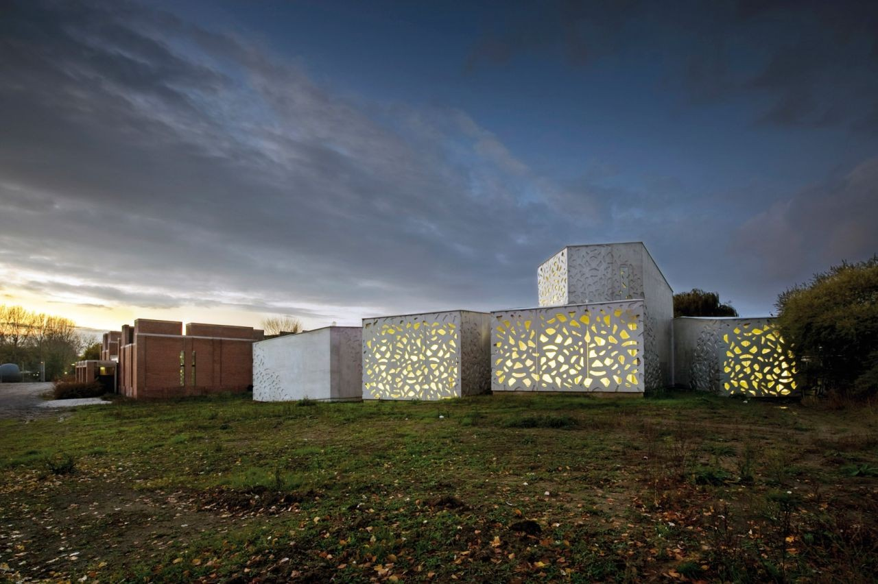 Modern Architecture Museum lille modern art museum / manuelle gautrand architecture | archdaily