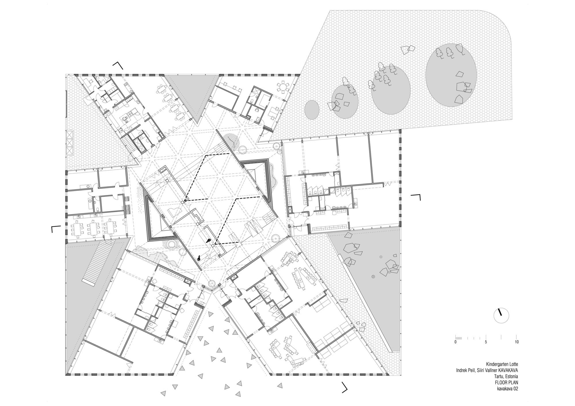 kindergarten lotte kavakava architects - Drawing Pictures For Kindergarten