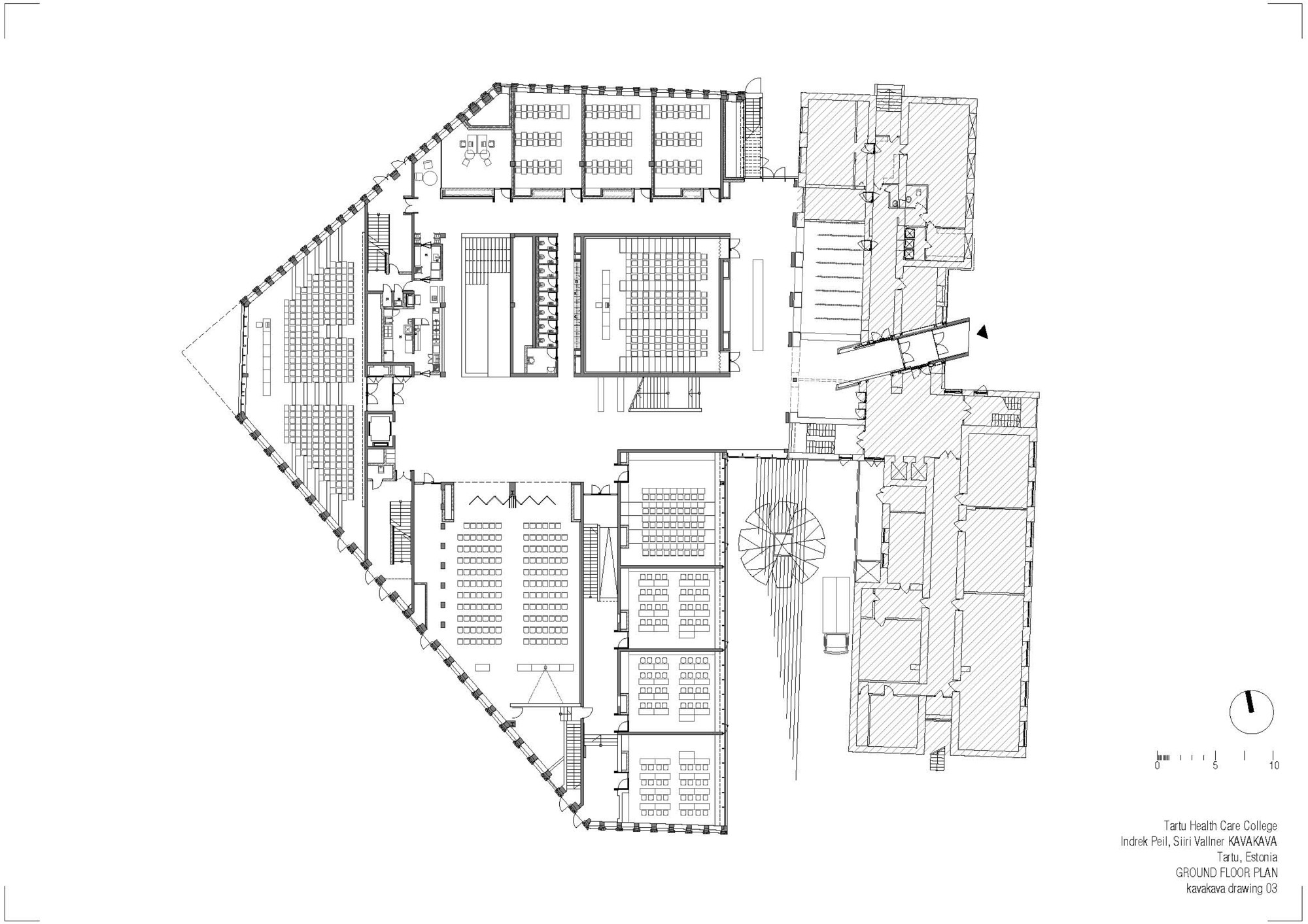 Gallery Of Tartu Health Care College Kavakava Architects 15