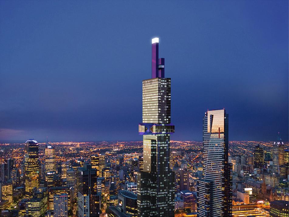 Melbourne Set to Build Tallest Skyscraper in Southern Hemisphere, © Fender Katsalidis Architects, John Gollings
