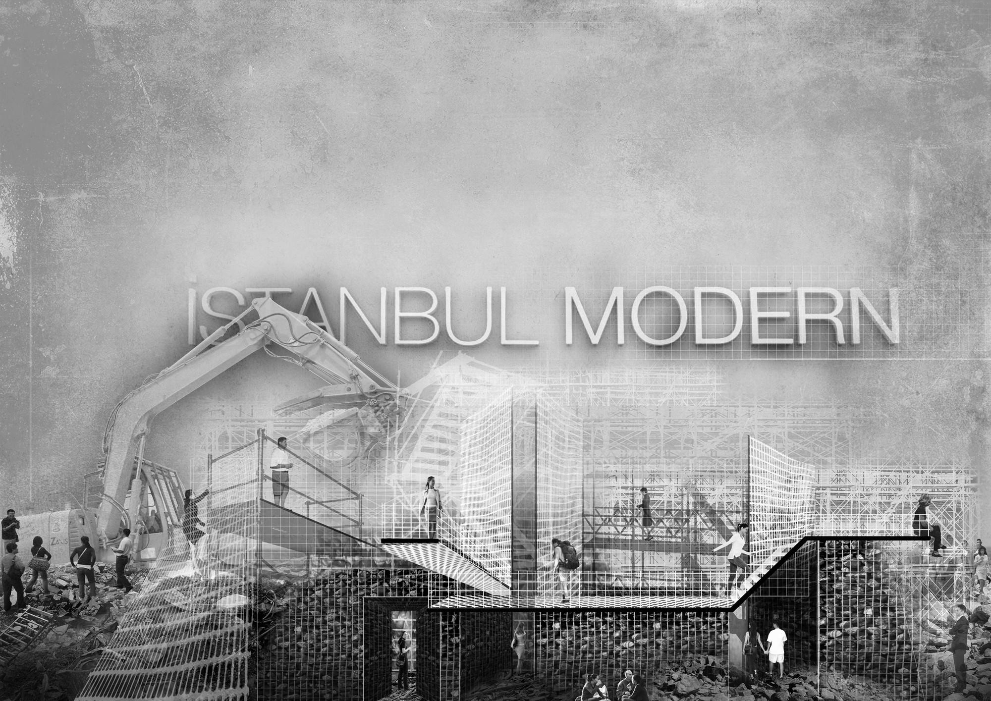 YAP IM-Debris Competition Entry / Yalin Architectural Design, Courtesy of Yalin Architectural Design