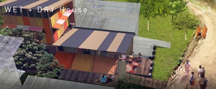 Propostas Vencedoras do Concurso de Casas do Futuro do Camboja, Cortesia de Visionary Design Development Pty Ltd.