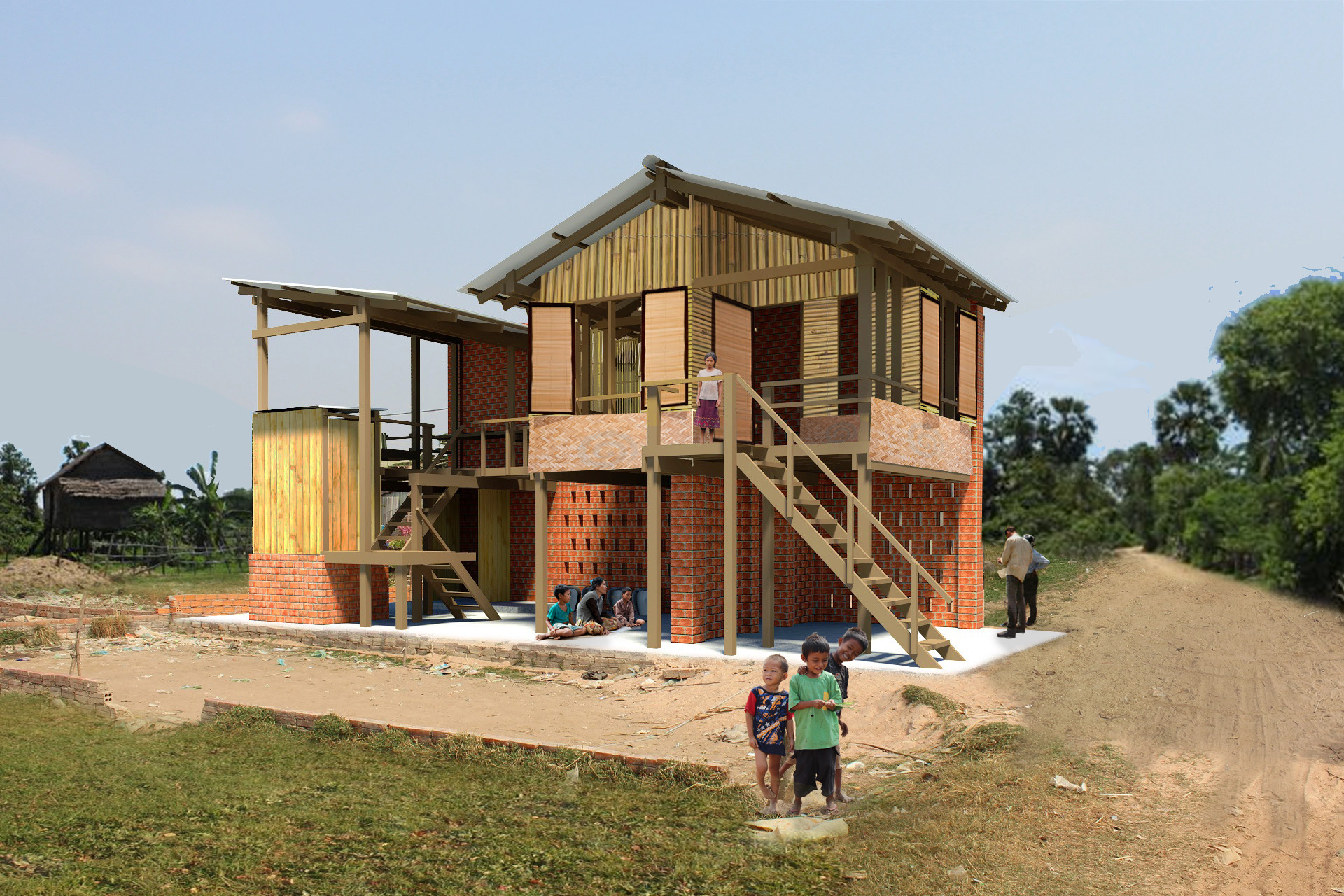 Cambodian Future House Compeion Winning Proposals | ArchDaily