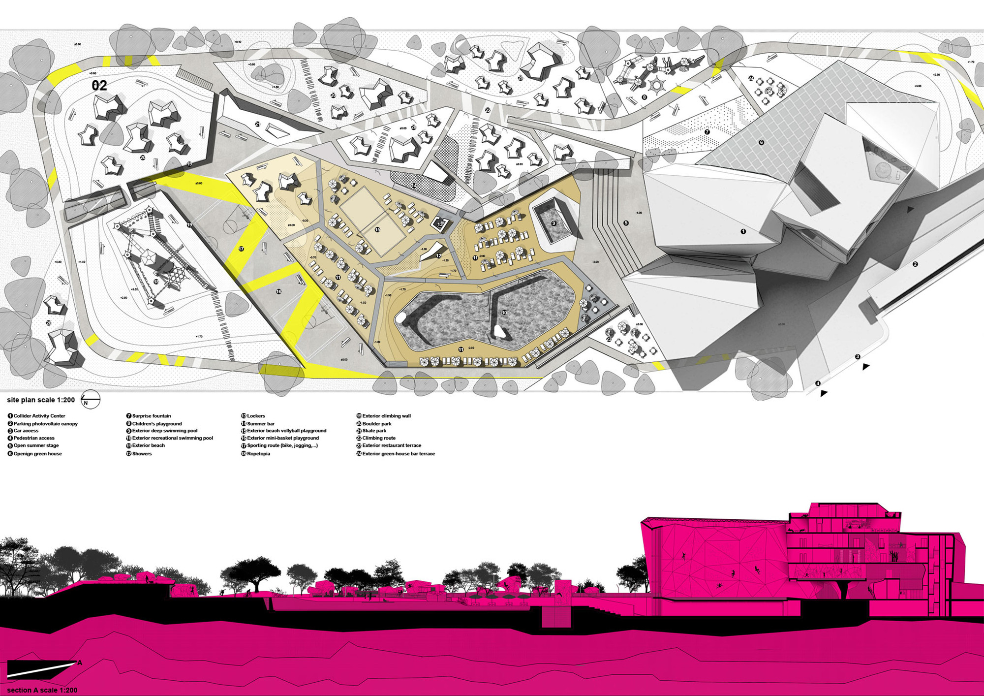 Gallery of Collider Activity Center Competition Entry STRATO 3 – How To Draw A Site Plan To Scale