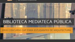 Convocatoria XXVII Concurso CAP para estudiantes de arquitectura
