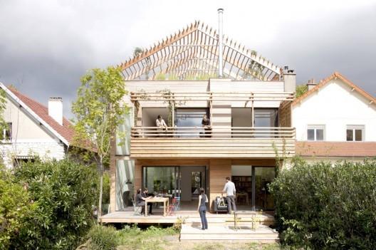 Eco-Sustainable House / Djuric Tardio Architectes. Image © Clément Guillaume