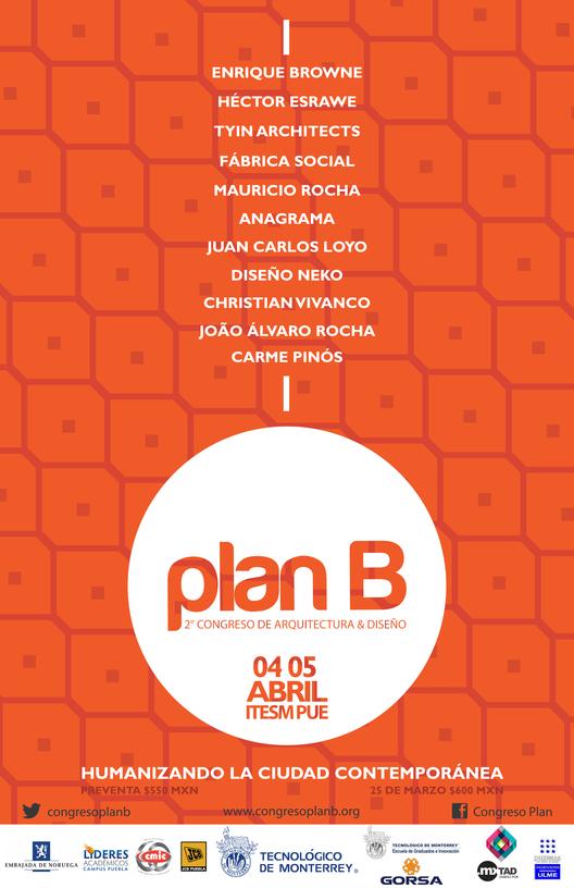 Plan B / 2do Congreso de Arquitectura y Diseño