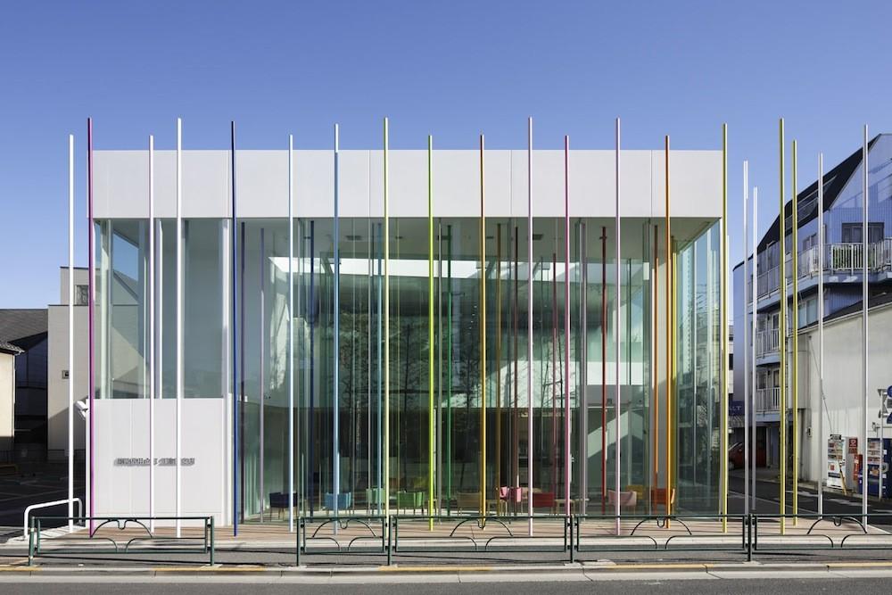 Sugamo Shinkin Bank, Ekoda Branch / Emmanuelle Moureaux Architecture + Design, © Daisuke Shima