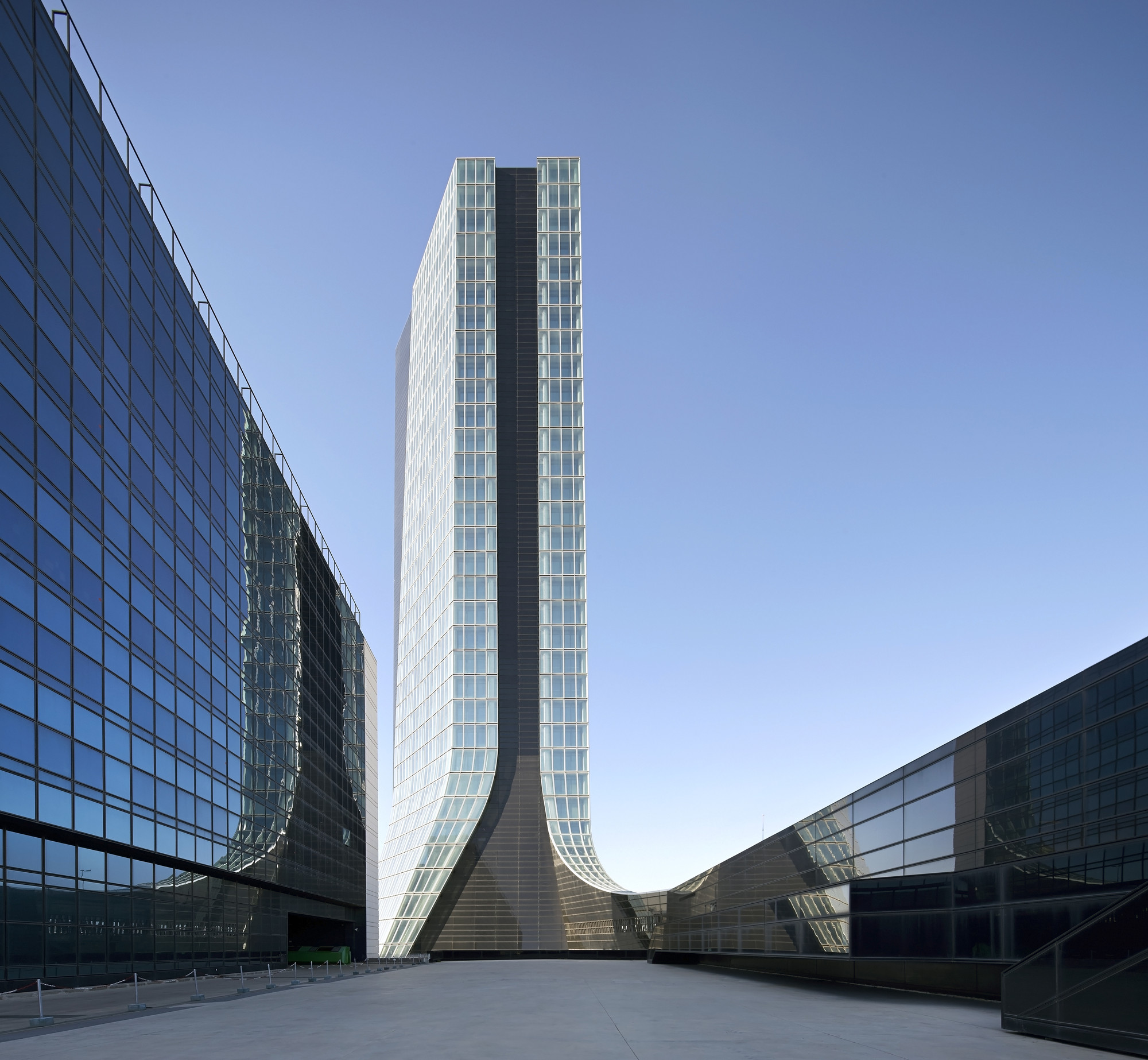 Gallery of zaha hadid architects 39 first built tower cma cgm headquarters 16 - Cma cgm france head office ...