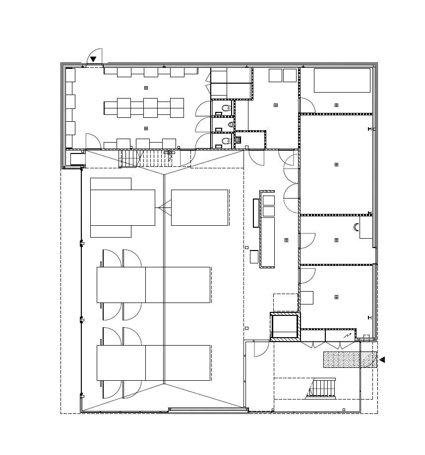 Gallery of fire station van rooijen nourbakhsh architecten 14 for Fire station floor plans design