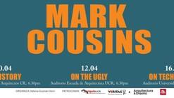 Ciclo de Charlas Mark Cousins en Costa Rica