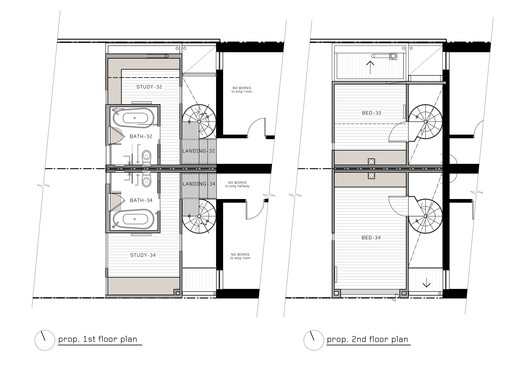 First & Second Floor Plan