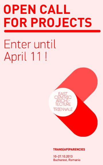 Call for Projects: East Centric Architecture Triennale 2013, Courtesy of Arhitext Design Foundation