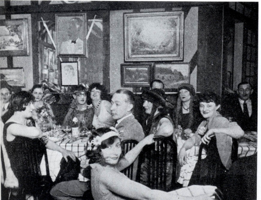 Courtesy of historum.com - 1920's Parisian Cafe