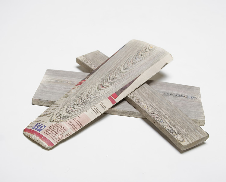 Série NewspaperWood / Mieke Meijer + Vij5, Cortesia de Vij5
