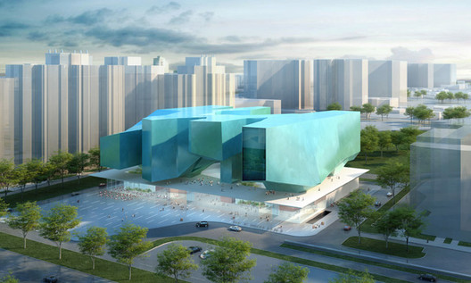 Museum and Educational Center of the Polytechnic Museum and Lomonosov Moscow State University Design Competition Results, first prize / Courtesy of MASSIMILIANO FUKSAS Architetto and SPEECH