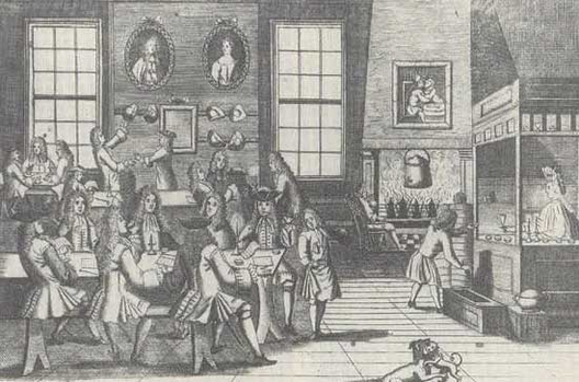 18th Century Tea House in England