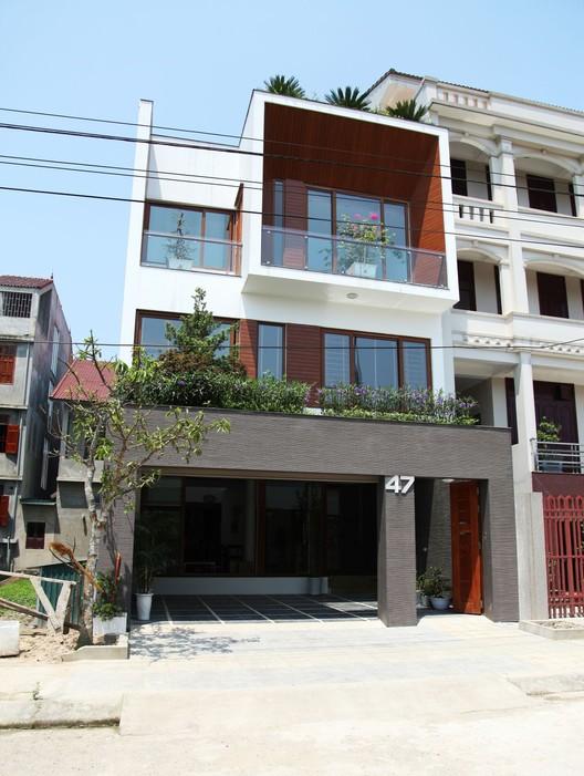 House No47 / H&P Architects, © Nguyen Van Tho