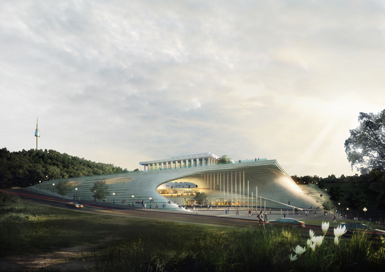 Performing Arts Studio of the National Theatre of Korea Second Prize Winning Proposal / Archiplan, Courtesy of Archiplan