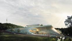 Segundo Premio Estudio de Artes Escénicas del Teatro Nacional de Corea / Archiplan