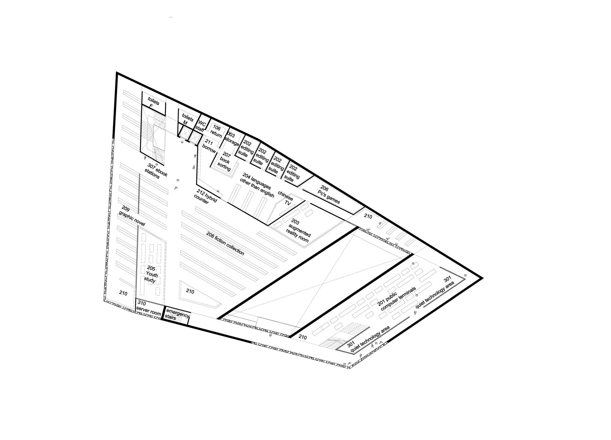 Green Square Library & Plaza Proposal / Gus Wüstemann