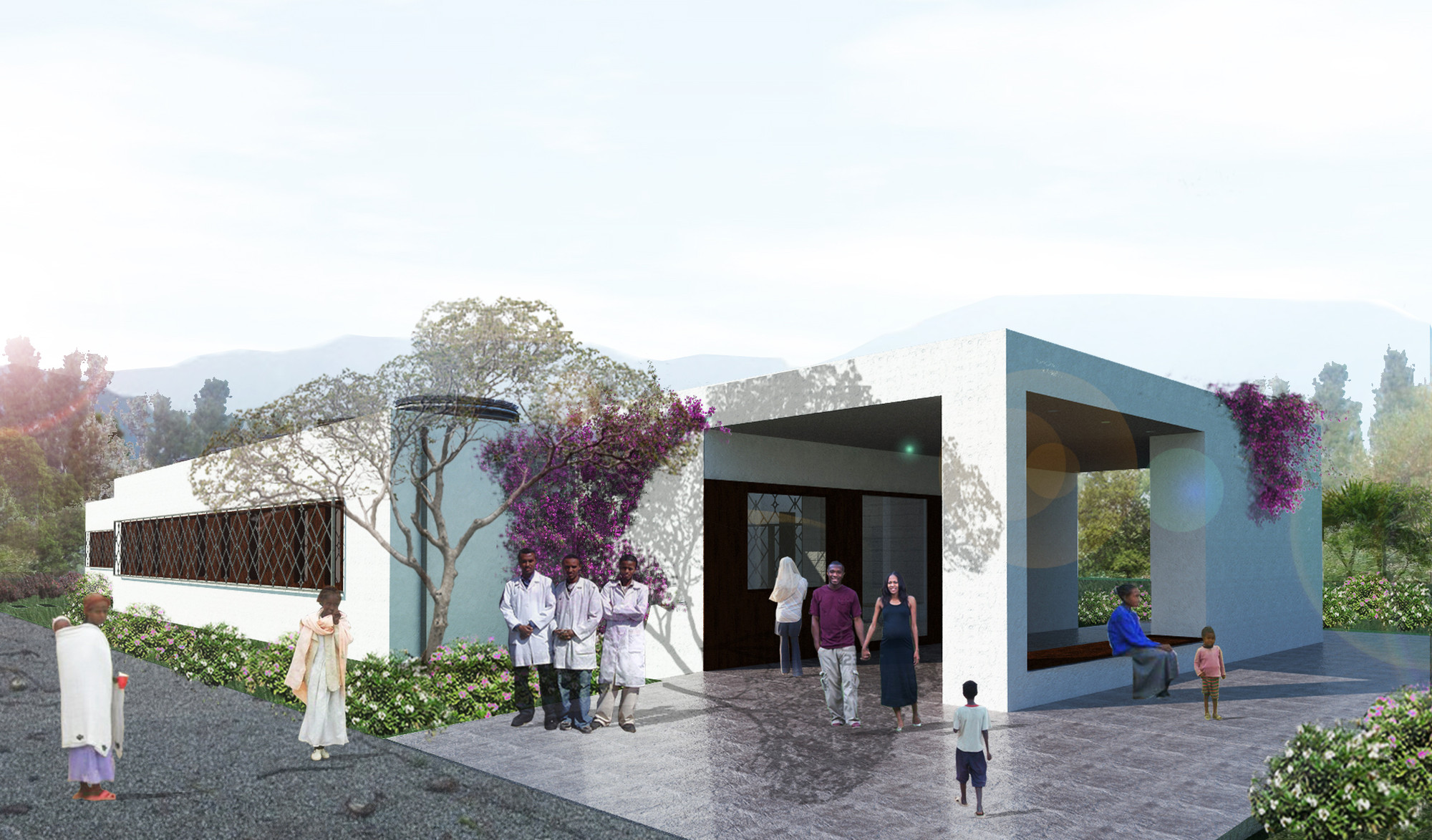 Woldya Maternity Center / Xavier Vilalta Architects, Courtesy of Xavier Vilalta Architects