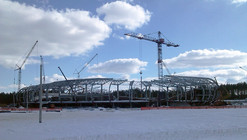 In Progress: FC Bate Borisov Football Stadium / OFIS