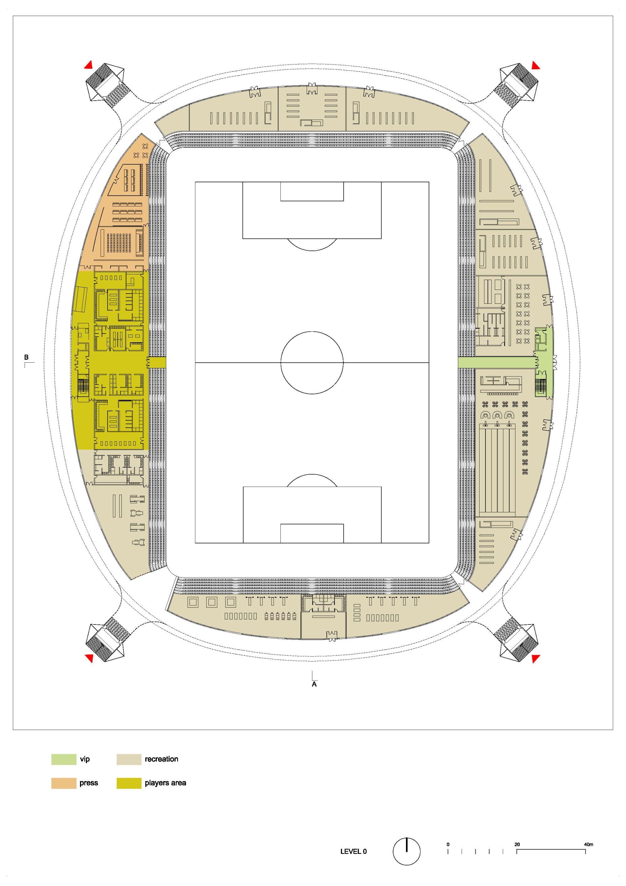 Exterior: Gallery Of In Progress: FC Bate Borisov Football Stadium