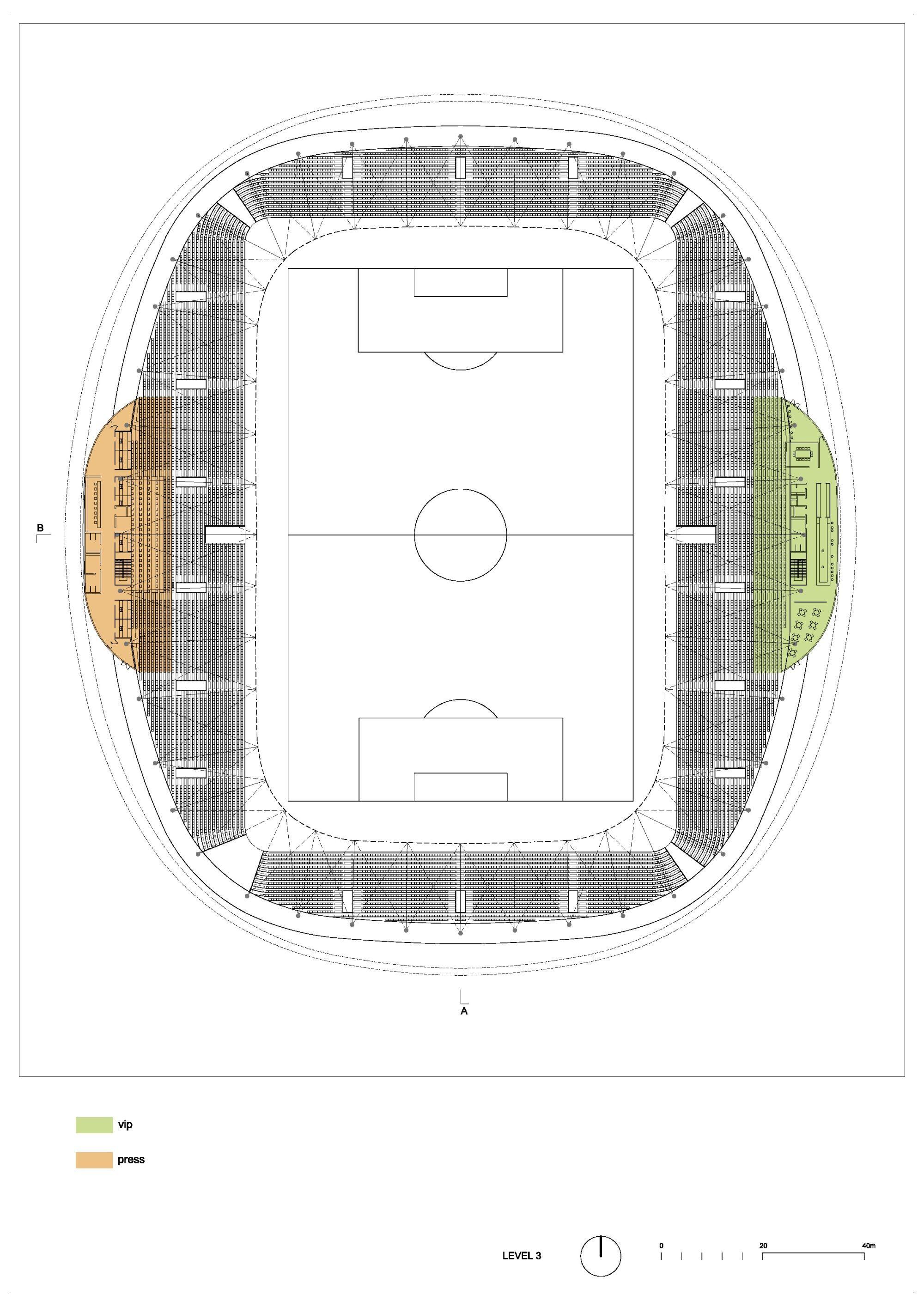 Gallery Of In Progress Fc Bate Borisov Football Stadium